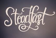 2016 One Word - STEADFAST
