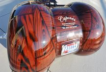 Motorcycle's / I use to work for a motorcycle shop.. I love the detail, lines and colors...