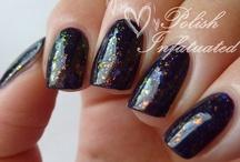 Nail polish layerings