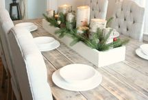 Centerpiece / Love to have a pretty table