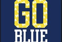GO BLUE! / by G M