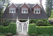 "Curb appeal- House Design Ideas / A house that says "" welcome, this is home"" ."