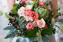 Bouquets-bold colors / Bold and bright bouquets for the adventurous bride