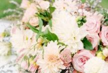 Bouquets- soft colors / Yummy flowers in delicious sherbet  and ice cream  colors for the sweetest brides...
