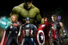Assemble / All the Avengers (and friends) in one place.  :) / by Maren Svare