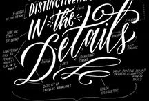 DISTINCTIVENESS IS IN THE DETAILS / by G R A C E
