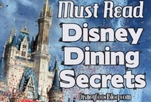 Disney Dining Tips / Awesome tips for Disney Dining at Walt Disney World and Disneyland from www.DisneyFoodBlog.com and others!