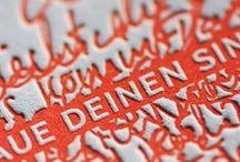 Paperlove: Letterpress & More / Graphic design inspiration... / by AMP