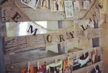 Rustic sunflower and burlap themed party. Moms rustic 60th Birthday
