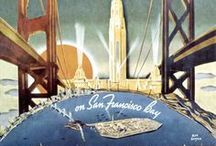 Public Works Department / Retro depictions of public works projects and other feats of engineering. / by AMP