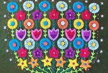 stitchery witchery / embroidery, mainly