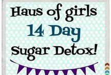 Sugar Detox / 14 Day sugar detox challenge group!  Private FB group! Tips, recipes and lots more! hausofgirls@gmail.com #sugardetox