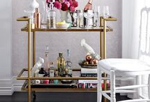 The Home Bar / home bars, bar carts, and more. / by Kristen D.