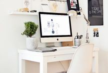 Home office: cool stuff for gettin' to work! / by Sarah Burns