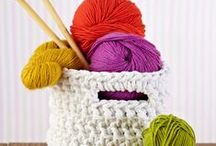 Sewing. crocheting and knitting
