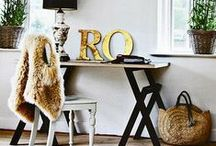 Home Inspiration / Love my home, love to decorate. / by Hannah Graham