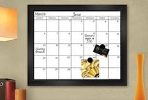 Calendars & Planners / Boards to help you get organized...and stay that way!