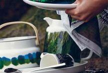 Marimekko Dining / FinnStyle invites you to enjoy good company at a table set with new Marimekko tableware.