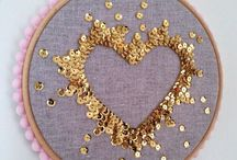 Sequins! / Shiny, sparkly sequins are everywhere - shoes, home decor, clothing, jewelry, gift wrap...