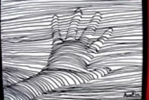 Handprint / Footprint / Fingerprint Art / by Connie Colligan