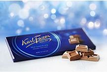 Finnish Coffee & Candy / If you love Finnish candy and coffee, then you've come to the right place. Enjoy our decadent selection of premium Fazer chocolate bars and candies, as well as our selection of gourmet light roast coffees from Paulig.