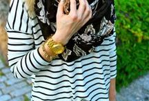 Stylish Stripes for over 40s / Fashion in #stripes for over 40s