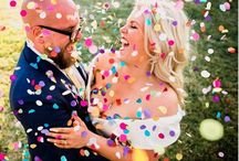 liz & rolo wedding 11 07 15 / #wedding #balloons #pastel #bridesmaids #cadillac