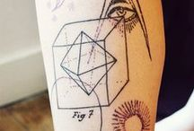 Nice Geometric Tattoos❤