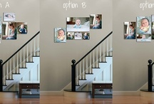 What to do with all those photographs {wall displays}