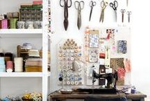 Sewing/Crafting Spaces / by Jaime Young