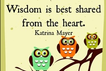 ⊱✿⊰ Words of Wisdom ⊱✿⊰ / I love words of wisdom! I live and breathe words