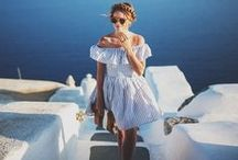 V O Y A G E / Holiday destination some place toasty? Pack a bag of sunshine...Shop-Hers style.