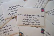 Invitations / by Bride & Groom Planner Christy Schimpf