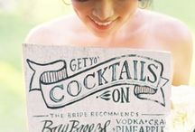 Drinks / by Bride & Groom Planner Christy Schimpf
