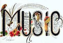9N  MUSIC  mUsIC  M-u-S-i-C / by Elizabeth Blanton