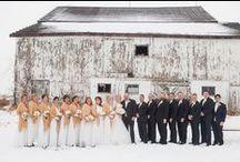 Rustic Glam Winter Wedding