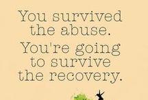⊱♰⊰ Abuse Survivor ⊱♰⊰ / Quotes and Photos on Being a Survivor