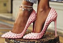 L O U B O U T I N / Christian Louboutin born 7 January 1963 is a French luxury footwear and fashion designer whose footwear has incorporated shiny, red-lacquered soles that have become his signature.