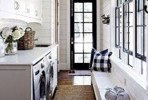 Laundry Rooms / Having a pretty laundry room might just make doing laundry a little more bearable.