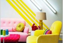 INTERIORS colour inspiration / Inspiring colour combos for interiors / by Zoe Brewer