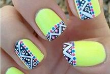 Nails / Different types of nail designs and DIY nails.  / by Jenson Dixon