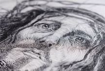 Drawing - Pen and Ink / Drawings created by Jake Weidmann.