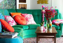 INTERIORS living room / by Zoe Brewer