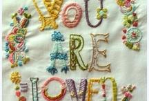 Needlework/stitch / by Kristina