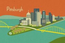 some call it Da Burgh- I call it HOME! / everything yinzer, Burghesque, Black & Gold...Yinz know!