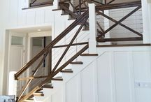 Stairways / Staircase decorating ideas that will help your staircase go from a simple space to sophisticated one.