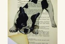 Create With Old Book Pages / A multitude of ways to use pages from old books.