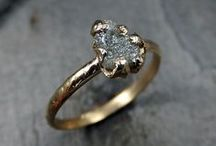 Modern & Affordable Engagement Rings / Rough cut diamonds, druzy, gemstones, and unique settings and shapes—these affordable and stylish engagement rings are perfect for the modern bride. Oh, and they are all under 1K too! / by The Golden Octopus
