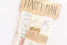 SNAIL MAIL | HAPPY MAIL | CARTAS