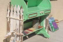 Potting Bench ideas / Potting benches ideas for a must do! Gardening stands, gardening work area!